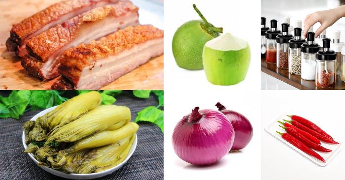 Cách kho thịt heo quay cải chua; Cách kho thịt heo đơn giản; Cách kho thịt heo ngon; Cách kho thịt kho tiêu; Cách nấu thịt kho trứng.