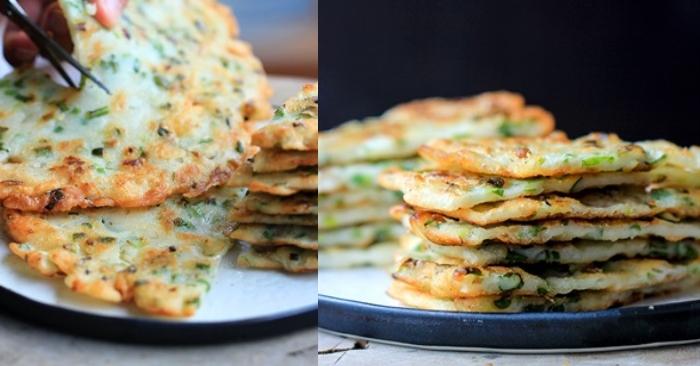 Cách làm bánh hành hàn quốc; hành Dongun; Cách làm bánh hành Chiate; Cách làm bánh hành chiên Trung Quốc; Cách làm bánh hành Hàn Quốc.