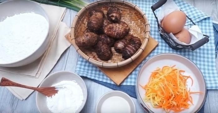 Cách làm bột chiên; Cách làm bột chiên khoai môn đơn giản chuẩn vị; Bánh củ cải; bánh bột chiên; Cách làm bánh củ cải; Khoai môn chiên xù;