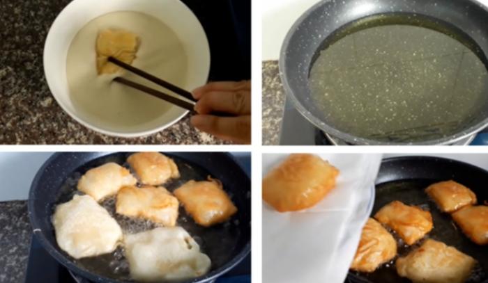 Bánh tráng sữa sầu riêng; Vỏ sầu riêng chiên bột; Sầu riêng sống làm gì ăn; Các loại bánh chiên; Nguyên liệu làm bánh crepe sầu riêng;