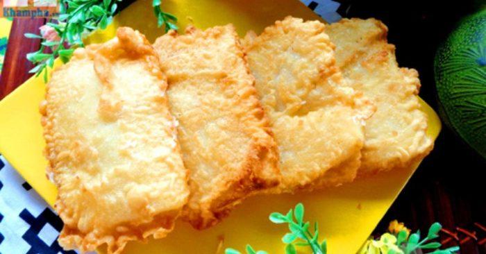 Cách làm bánh sầu riêng chiên giòn ngon hấp dẫn