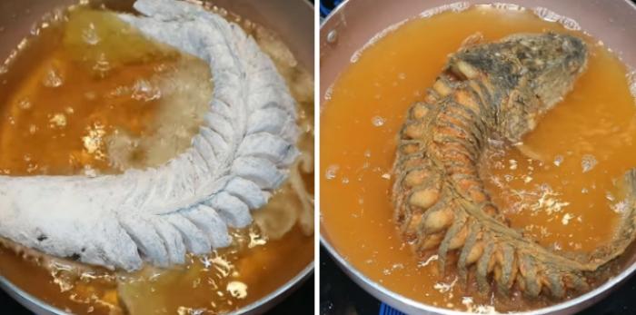 Cách làm cá lóc chiên xù; Cá lóc có vị ngọt, tính bình, không độc. Có tác dụng khử thấp, trừ phong, tiêu thũng, thông quan, tư âm, sinh tân dịch, bổ gân xương tạng phủ.