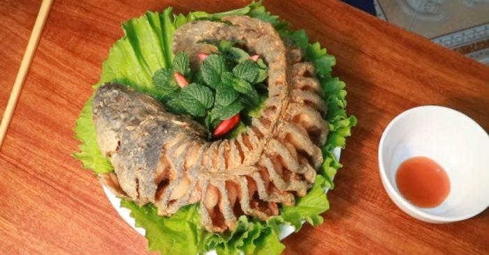 Cách làm cá lóc chiên xù giòn ngon đậm vị