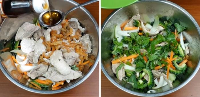 Cách làm mứt khổ qua; Cách làm gỏi cá lóc; Gỏi cóc tôm khô; Cách làm gỏi cá lóc; Cách làm gỏi khổ qua đơn giản; Cá khô nấu canh chua;