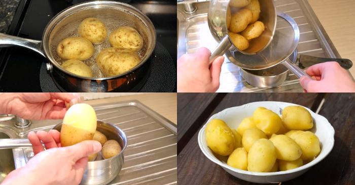 Cách làm khoai tây bơ tỏi; tây xào bơ tỏi; Khoai tây chiên bơ tỏi bằng nồi chiên không dầu; Khoai lang nướng bơ tỏi; Cách làm khoai tây chiên bơ đường.