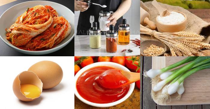 Cách làm kim chi lăn bột; Cách làm bánh kim chi lăn bột; Cách làm kim chi; Bánh kim chi hải sản; Canh kim chi.