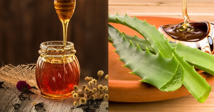 cách làm lông mày rậm bằng mật ong; cách làm lông mi dài bằng  nha đam cực hiệu quả;
