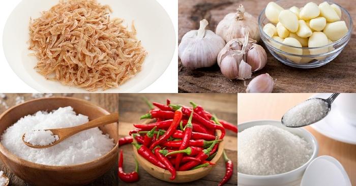 Cách làm muối ruốc thái; Cách làm muối con ruốc; Cách làm muối ớt; Cách làm muối tôm; Con ruốc.