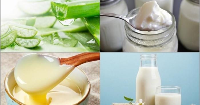 cách làm sữa chua nha đam với 4 bước đơn giản; cách làm sữa chua nha đam không bị đắng;