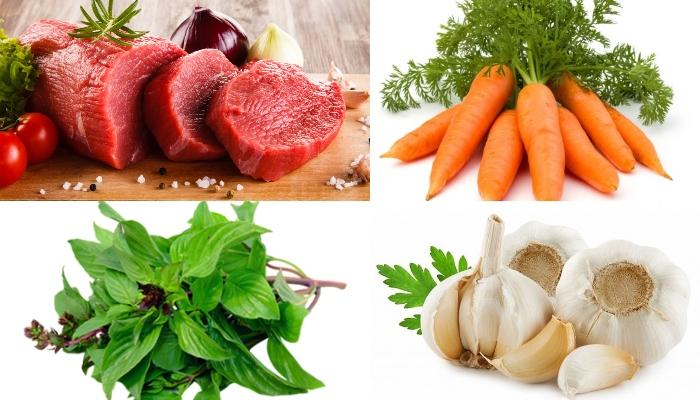 Làm bò hầm khoai tây, dễ làm, dạy, lạ miệng, mon an hang ngay, day nau an, nhung mon don gian.