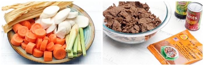 Cách nấu bò kho chay, tại nhà, món ăn, hàng ngày, công thức dễ làm, đồ, mỗi ngày, mon ngon nha lam.