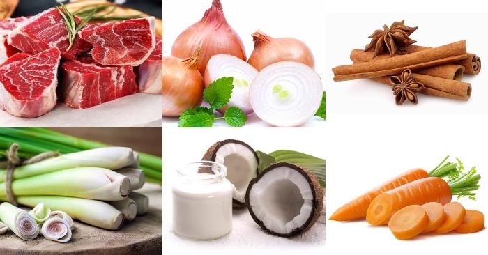 Cách nấu bò kho nước dừa tươi, thịt bò kho nước dừa, bổ dưỡng dễ làm, ngon miệng, ngon, bổ.