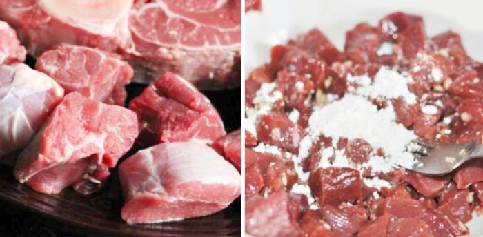 Làm bò lúc lắc; chấm bánh mì; mềm; đậm vị; không bị dai; kho; xào; đãi tiệc; lẩu; nguyên liệu tươi;