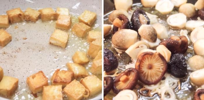 Nguyên liệu cho món bún chay Huế; tươi ngon; sơ chế; sạch sẽ; riêu; dạy nấu; đảm bảo chất lượng;