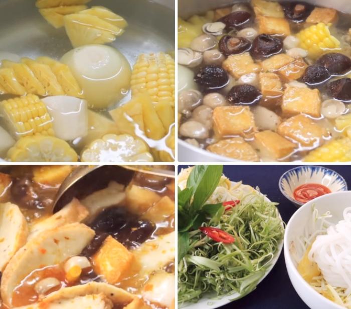 Mẹo làm bún chay ngon; kiểu Huế; miền Trung; dễ nấu; đậm đà khó cưỡng; đơn giản tại nhà; đổi vị;