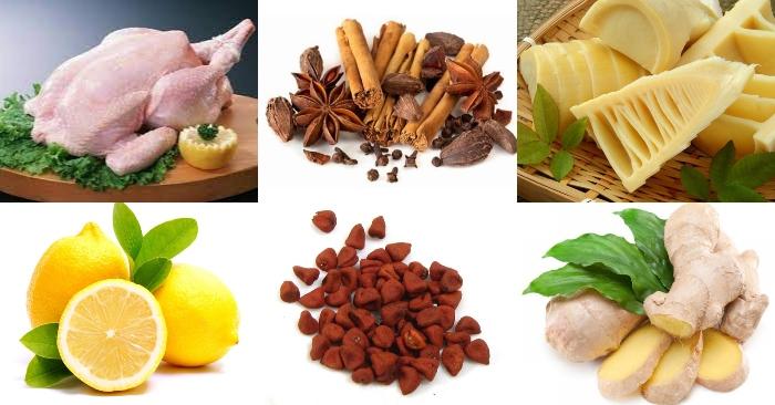 cách nấu miến măng gà ngon, giỗ, dễ làm, thực hiện, bí quyết, công thức, gà nấu măng tươi, ngon.