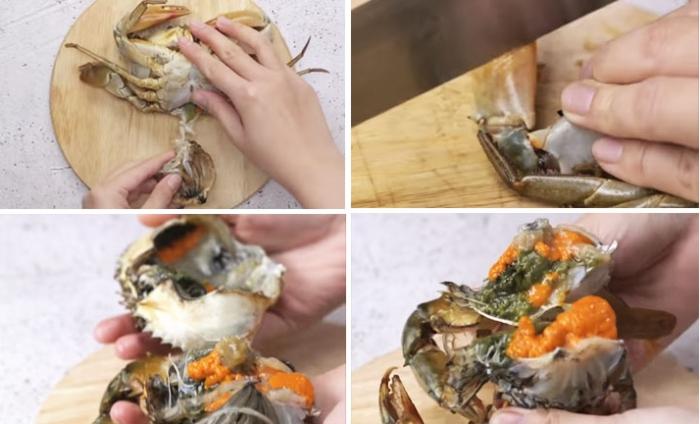Cách nấu cháo cua biển bí đỏ; cua bí đỏ phô mai; nấu với rau gì; Cháo cua biển bí đỏ cho bé; cho người lớn.