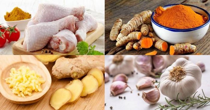 Cách nấu gà kho nghệ đậm đà, thơm ngon; Cách làm gà kho sả nghệ; Thịt gà kho nghệ tươi; Cách kho thịt gà ngon đúng điệu; Cách làm gà kho gừng.
