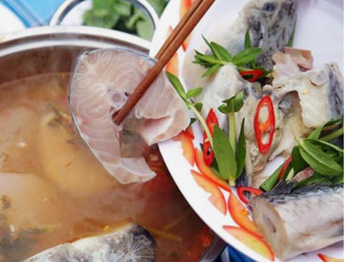 Cách nấu lẩu mẻ cá tầm chua cay; lẩu măng chua cá bớp; Lẩu cá tầm ăn rau gì; Cá tầm nấu măng đặc sản; Lẩu cá măng chua.
