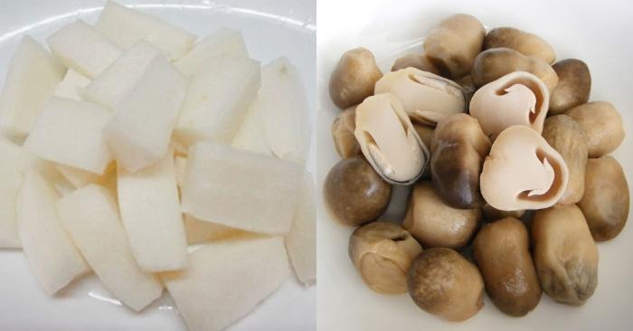 Cách nấu nui gà nấm rơm; nấu nui xào; Cách nấu nui gà; Cách nấu nui tôm; Cách nấu nui cho bé.