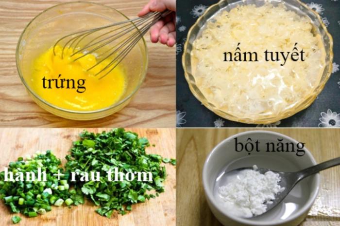 Cách nấu súp nấm tuyết gà thơm ngon, bổ dưỡng; cách nấu súp nấm tuyết chay; cách nấu súp nấm tuyết tươi; cách nấu súp cua nấm tuyết; Cách nấu súp tôm nấm tuyết; nấm tuyết nấu súp.
