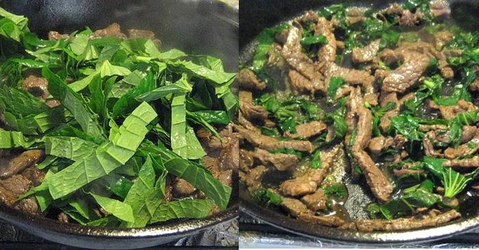 Cách nấu thịt trâu xào lá lốt; trâu xào gì ngon; Thịt trâu nhúng mẻ lá lốt; Thịt trâu xào lá lốt nước cốt dừa; Thịt trâu xào tỏi.