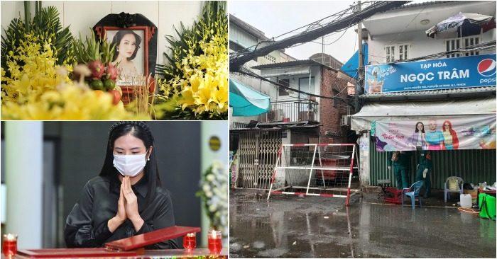 Hoa hậu Ngọc Hân tiễn biệt họa hậu Thuy Thủy; phong tỏa khu Mả Lạng