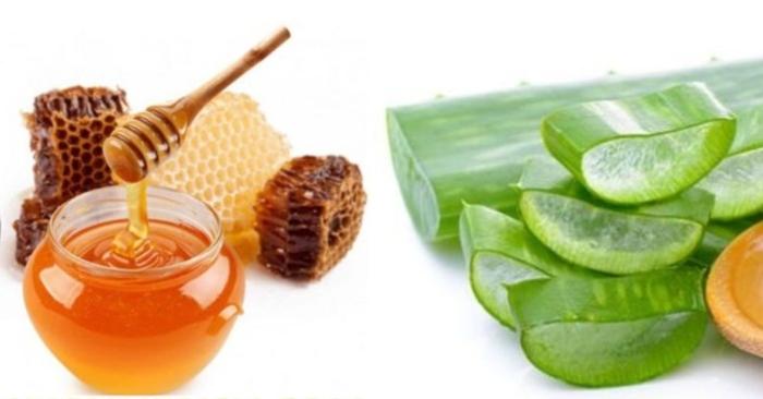 Nha đam và mật ong đều là nguyên liệu thiên nhiên giàu dưỡng chất, tốt cho sức khỏe và nhan sắc.