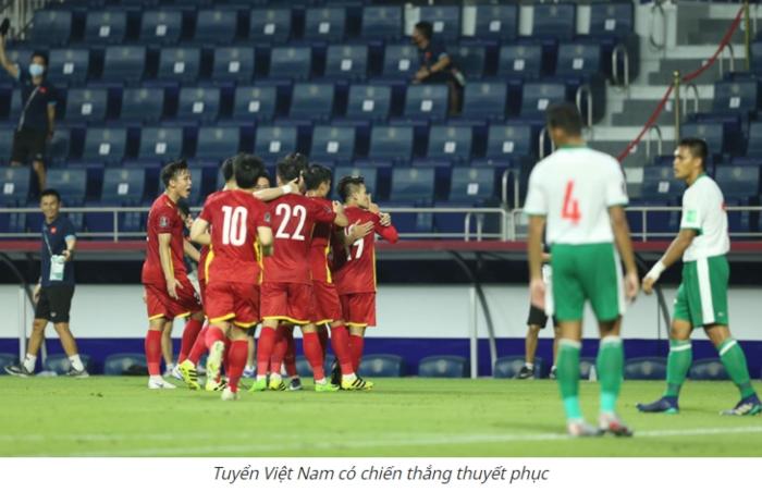 Thua đậm trước đội tuyển Việt Nam, HLV Indonesia đổ lỗi cho trọng tài