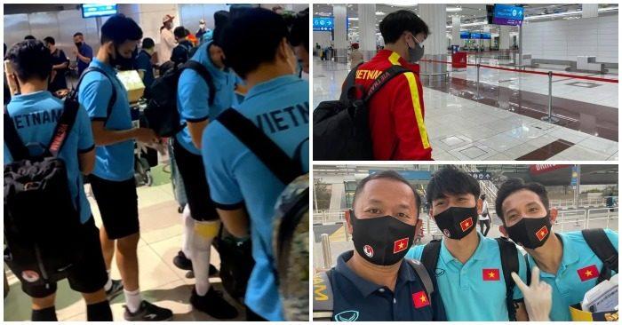 Tuyển Việt Nam háo hức về nước sau chiến dịch vòng loại World Cup 2022 thành công ở UAE (ảnh chụp màn hình Dân Trí).