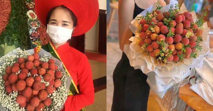 Pha sáng tạo đi vào lòng người: Rước dâu bằng xe hoa vải thiều gây sốt MXH.