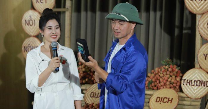 30 phút, Xuân Bắc chốt 1.000 đơn mua vải, diễn viên Bảo Thanh mua 100kg