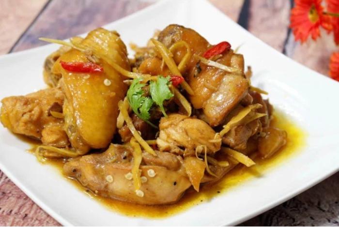 Gỏi củ hủ dừa thịt gà, chiên giòn, kho, hàng ngày, nấu ăn, công thức, dễ làm, đồ, mỗi ngày, nha lam.