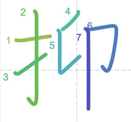 Học từ vựng tiếng Trung có trong sách Chuyển Pháp Luân - chữ ức; học tiếng trung; học tiếng trung; từ vựng tiếng trung; học tiếng trung cơ bản