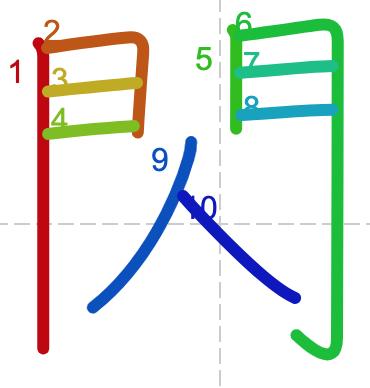 Học từ vựng tiếng Trung có trong sách Chuyển Pháp Luân - chữ thiểm; học tiếng trung; học tiếng trung; từ vựng tiếng trung; học tiếng trung cơ bản