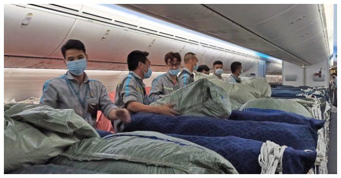 800 máy thở được chuyển từ Hà Nội vào TP.HCM để phục vụ chống dịch.
