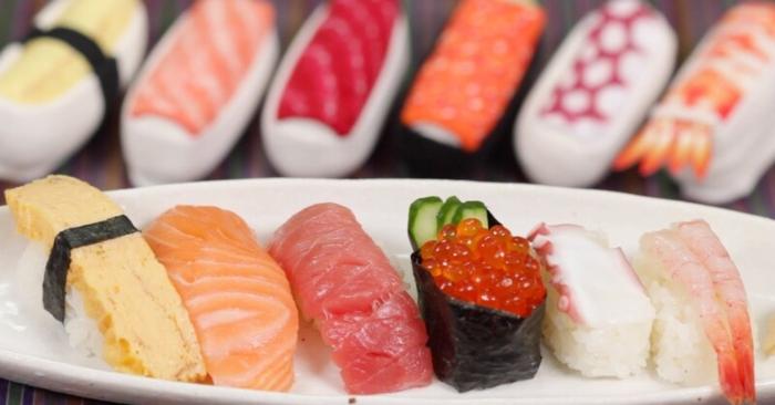 Các món ăn cá sống như sushi có thể gây ra ngộ độc thực phẩm cho thai nhi