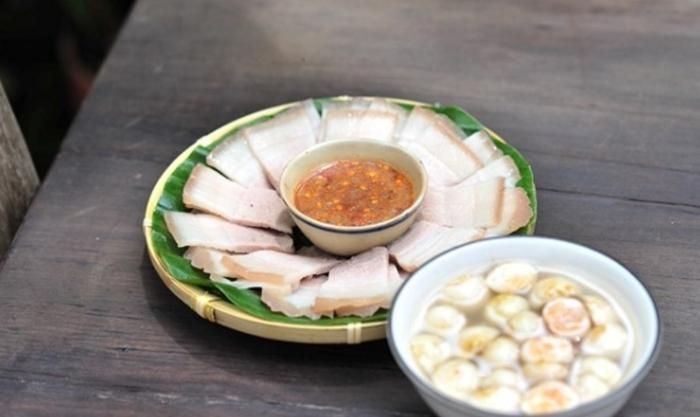 Bún thịt luộc chấm mắm nêm, Nguyên liệu làm bánh tráng cuốn thịt heo, Thanh Xuân, Nước chấm .