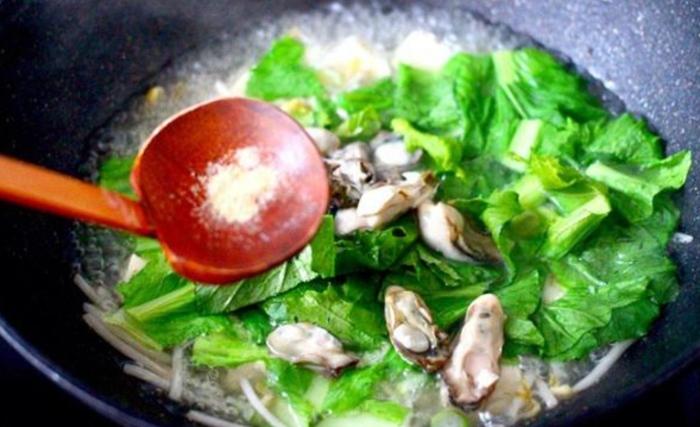 Hàu nấu, mướp, chế biến món ăn, không ngán, lạ miêng, cong thuc nau an, ba bi nau an, mẹo nấu