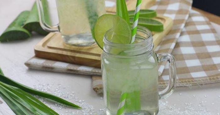 Mách bạn cách làm nước nha đam ngon đơn giản tại nhà; chất dinh dưỡng; làm đẹp; rất nhiều; tiêu hóa.