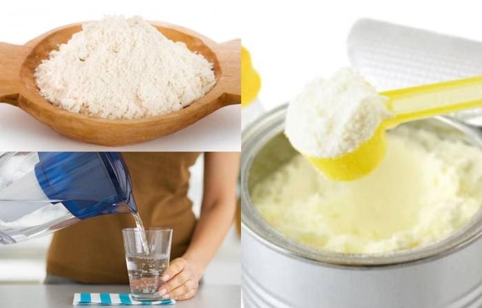 cách pha sữa công thức với sữa non, đơn giản, có nên kết hợp, dặm cho bé từ các loại hạt, hấp dẫn.