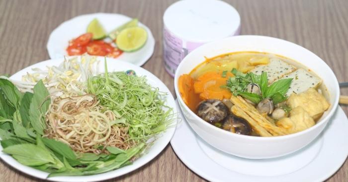 Cách nấu bún bò Huế chay ngon miệng mà dễ thực hiện tại nhà, các món, cong thuc nau an, bổ dưỡng.