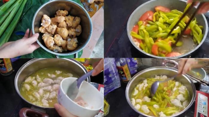 Làm bún cá dọc mùng; muối chua nấu cá; nấu xương; nấu canh; xào; muối; nấu ngao; nấu canh cua.