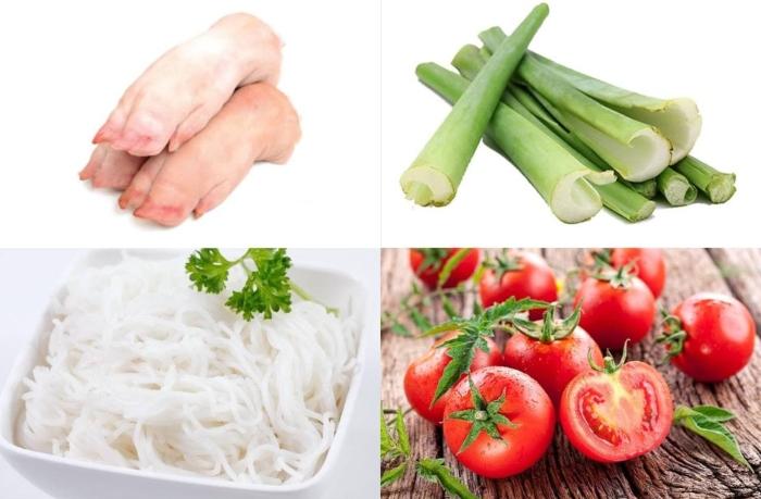 Cách nấu bún dọc mùng sườn; mọc; ngon; chay; ốc; cá; chua; dễ làm, thực hiện; mon ngon nha lam; ngon