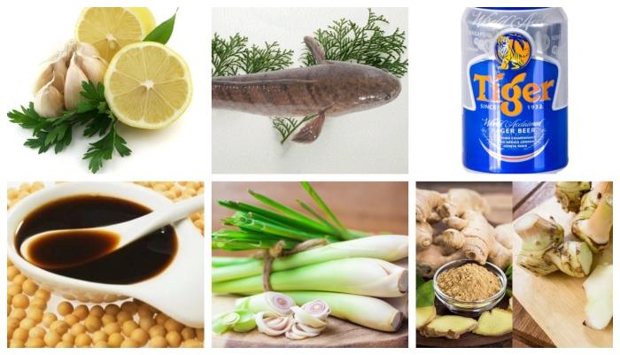 Cách nấu cá hấp; bia; trắm; ngải cứu; xì dầu; chép; hành; cuốn bánh tráng; trắm; làm thơm ngon;