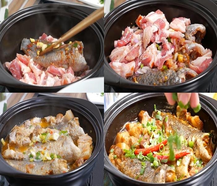 Cách nấu cá rô kho tộ thơm ngon đậm đà hương vị, chuẩn 5 sao, bắt cơm, chế biến món ăn, coi nau an