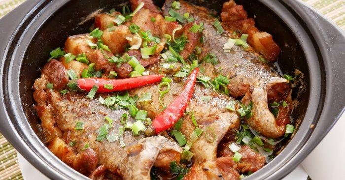 Cách nấu cá rô kho tộ thơm ngon đậm đà hương vị, sắc thái, món ăn, trổ tài, nội trợ, phụ nữ việt nam.