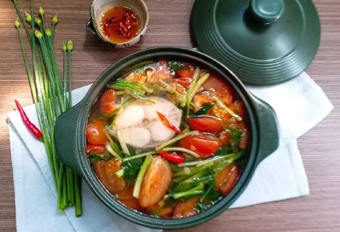 Cách nấu canh chua cá bớp biển ngon miệng ngon, ăn với canh, gì, có mấy món, bao nhiêu, nhanh gọn.