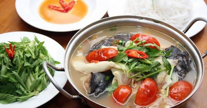 Cách nấu canh chua cá bớp biển ngon miệng, sach huong dan nau an, chuẩn bi, cách làm, ngon miệng.