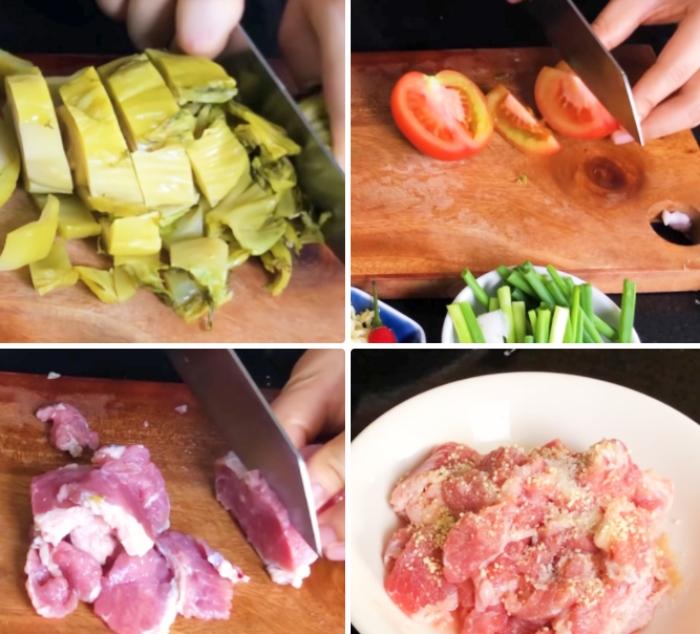 Bắp bò nấu dưa chua; ăn gì đây; danh sách; ít béo; ít ngọt; tốt cho sức khỏe; ngon; kiểu hàn quốc;